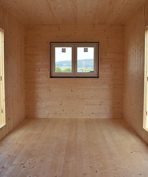 Rhönmodul mit Holz-Fassade